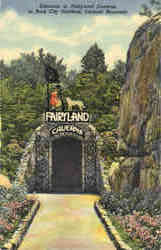 Entrance to Fairyland Caverns, Lookout Mountain