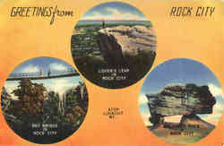 Sky Bridge, Lover's Leap, Balanced Rock, Lookout Mountain