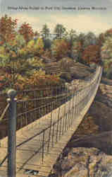 Swing-Along Bridge, Lookout Mountain