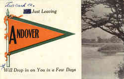 Andover Maine Banner Card