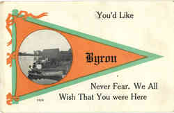 Byron Maine Banner Card