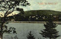 Mt. Battle from Sherman's Point, Near Rockland Postcard