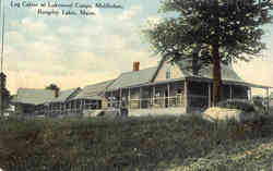 Log Cabins at Lakewood Camps, Middledam