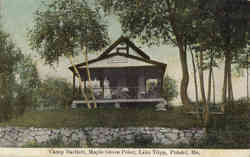 Camp Bartlett, Maple Grove Point, Lake Tripp Postcard