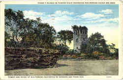 Tower and Ruins of Old Panama Destroyed by Morgan 300 years ago