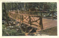 Rustic Foot Bridge