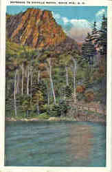 Entrance to Dixville Notch Postcard