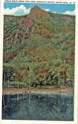 Table Rock From the Lake, Dixville Notch Postcard