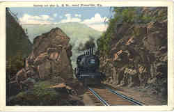 Scene on the L. & N Railroad