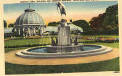Horticultural Building And Barbour Memorial, Belle Isle Park