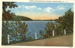 Canada Lake From State Highway