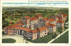 The Women's Dormitory, University of Colorado at boulder