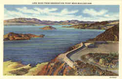 Lake Mead from Observation Point, Boulder Dam