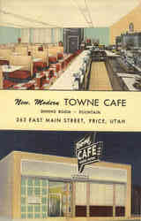 New Modern Towne Café, East Main street