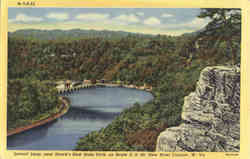 Lovers' Leap, Hawk's Nest State Park, on Route U. S. 60