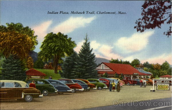 Indian Plaza, Mohawk Trail Charlemont Massachusetts