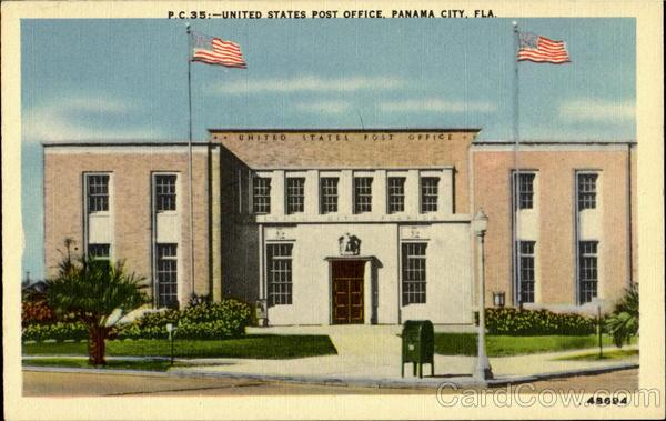 United States Post Office Panama City Florida