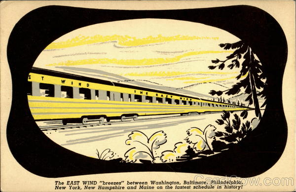 The East Wind Trains, Railroad