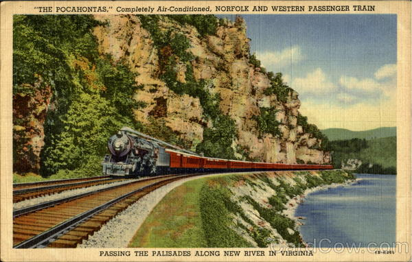 The Pocahontas Trains, Railroad