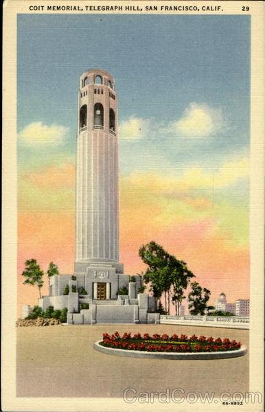 Coit Memorial San Francisco California