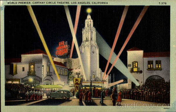 World Premier Carthay Circle Theatre Los Angeles California