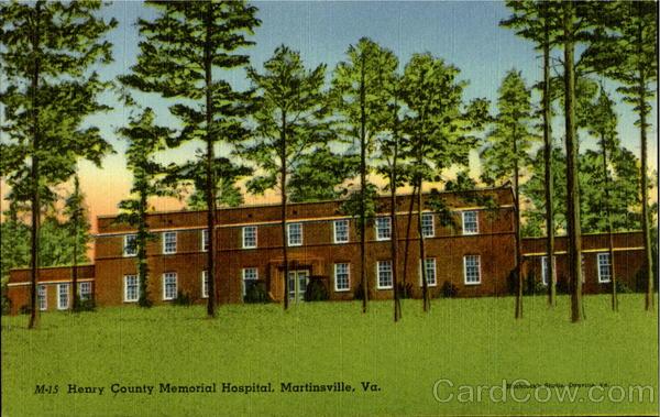Henry County Memorial Hospital Martinsville Virginia