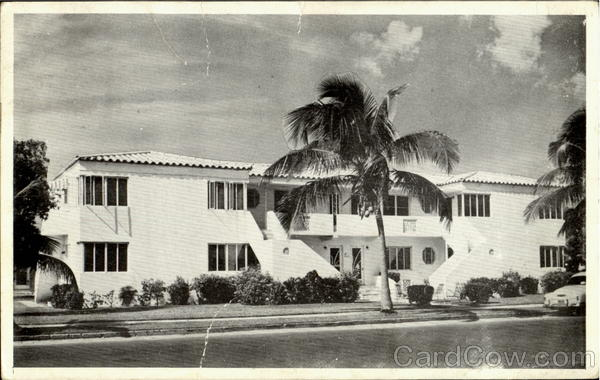 Magflower Apartments, 312 North Seventeenth Ave Hollywood  Florida
