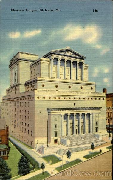 Masonic Temple St. Louis, MO