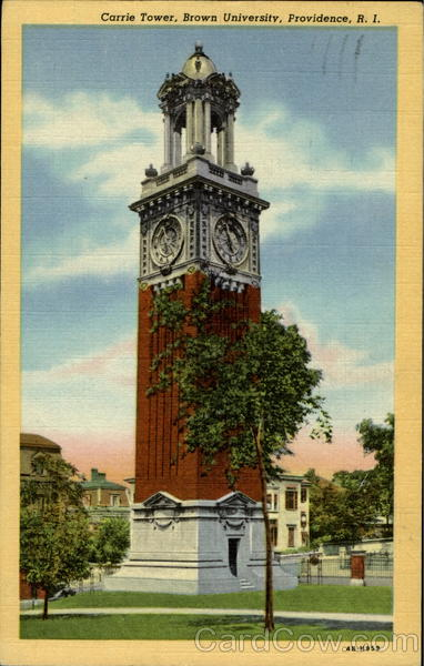 Carrie Tower, Brown University Providence Rhode Island