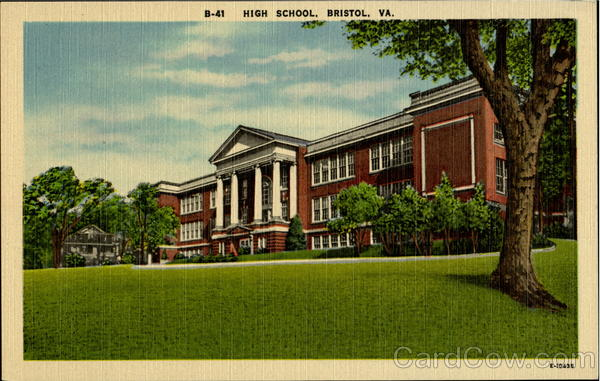 High School Bristol Virginia