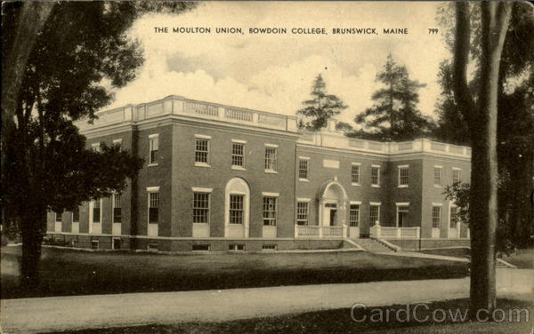The Moulton Union, Bowdoin College Brunswick Maine