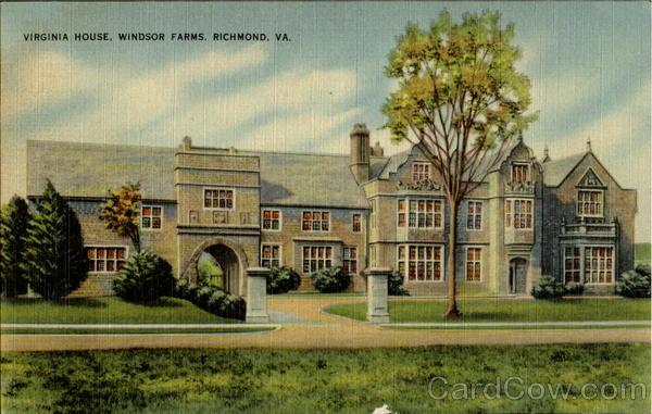 Virginia House Windsor Farms Richmond Va