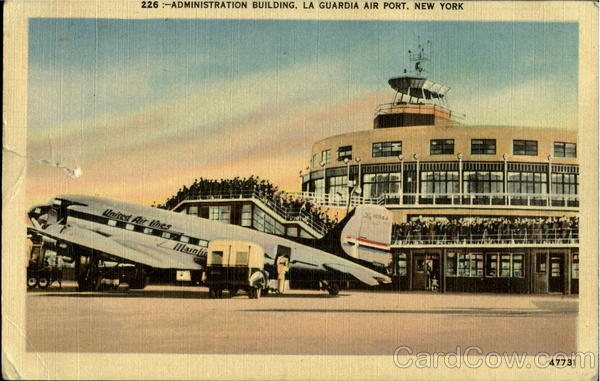 Administration Building, La Guardia Air Port New York