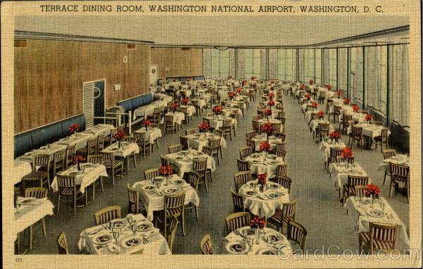 Terrace Dining Room, Washington National Airport District of Columbia