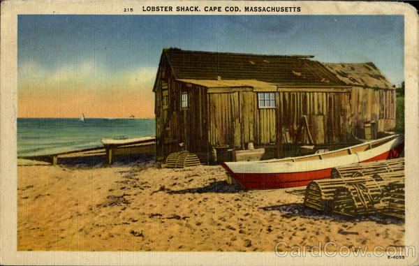Lobster Shack Cape Cod Massachusetts