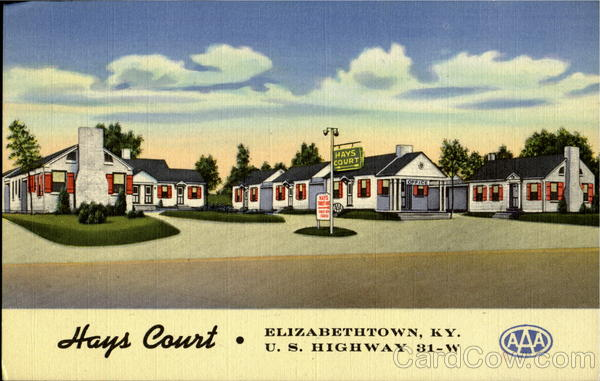 Hays Court, U. S. Highway 31-W Elizabethtown Kentucky