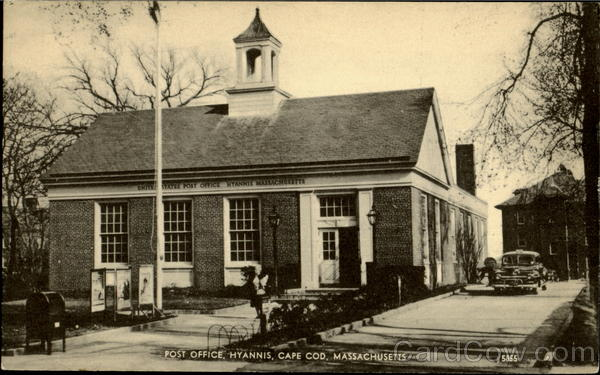 Post Office, Hyannis Cape Cod Massachusetts