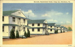 Barracks Replacement Center, Camp Lee