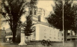 Congregational Church Postcard