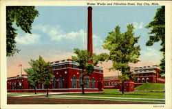 Water Works And Filtration Plant