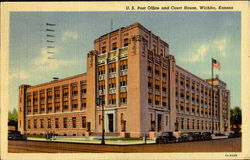 U. S. Post Office And Court House Postcard