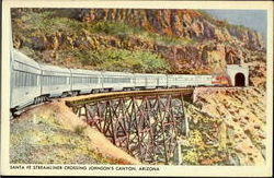 Santa Fe Streamliner, Johnson's Canyon