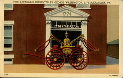 Fire Apparatus Presented By George Washington
