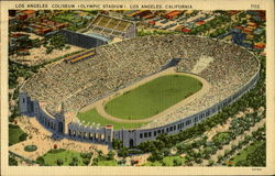 Los Angeles Coliseum Postcard