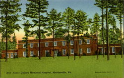 Henry County Memorial Hospital Postcard