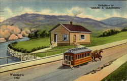 Warshaw's Birthplace Of Grade A Cleansing Postcard