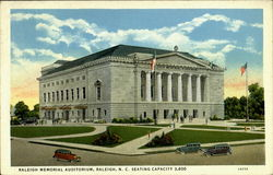 Raleigh Memorial Auditorium