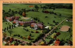 Airplane View Of Penn Hall School