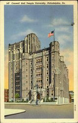 Conwell Hall Temple University Postcard