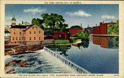 The First Cotton Mill In America